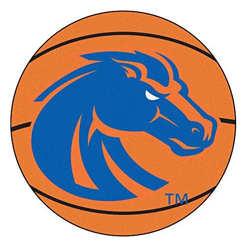 Boise Rug - Fanmats NCAA Boise State University Broncos Nylon Face Basketball Rug