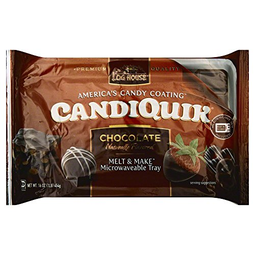 Log House Candiquick Coating Choc