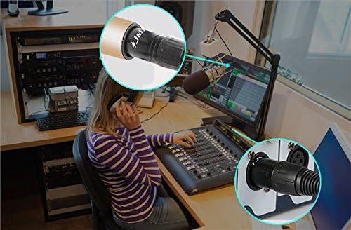 XLR Kabel 15 Feet // 4.5 Meter XLR Stecker auf Buchse Mikrophonkabel 2er Pack J/&D