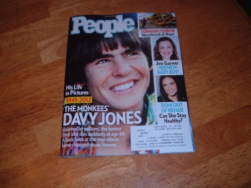 - People magazine, March 19, 2012-Davy Jones-The Monkees' His Life in Pictures 1945-2012