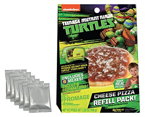 Ninja Turtles Pizza (Teenage Mutant Ninja Turtles Cheese Pizza Refill Pack)