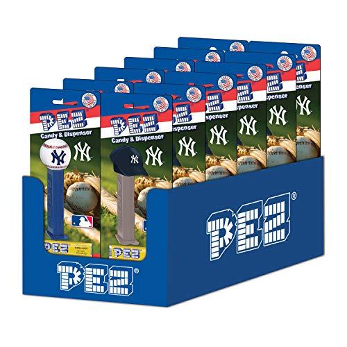 (12-Packs of MLB Pez Candy Dispenser - Yankees)