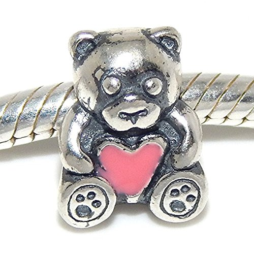 Teddy Bear Solid Sterling Silver (Solid 925 Sterling Silver