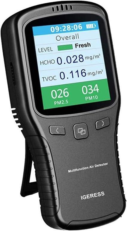 Détecteur de formaldéhyde pour compteur de pollution de l/'air AQI HCHO TVOC
