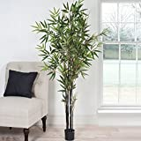 Romano 5-foot Japanese Bamboo Artificial Decorative Green Tree (Outdoor/Indoor)