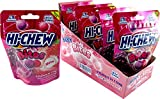 Hi-Chew Bites Grape & Strawberry Chewy Fruit Candy 1.59 oz (Pack of 6)