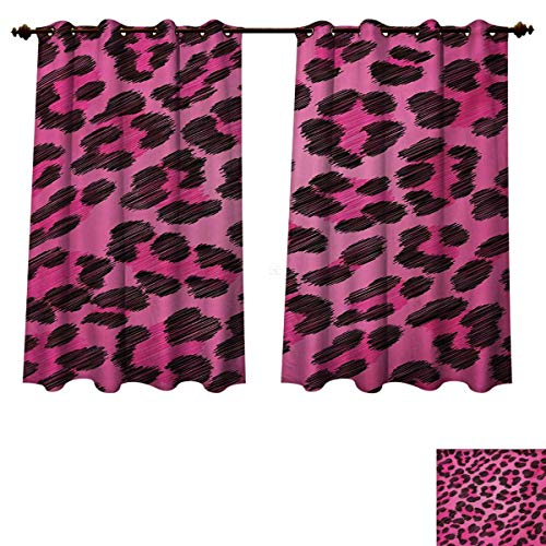 RuppertTextile Teen Room Blackout Thermal Curtain Panel Vibrant