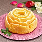 Sharlity 3 Pack Non-Stick Flower Shape Silicone
