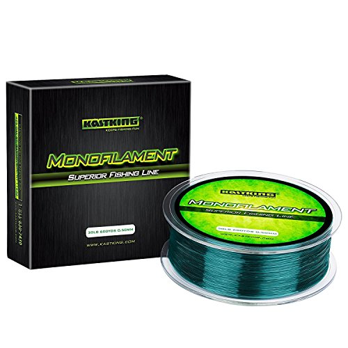 KastKing Premium Monofilament Fishing Line - Superior Mono Nylon Material - Paralleled Roll Track Design ¨C Tournament Grade ¨C Strong, Abrasion Resistant Mono Line Saltwater