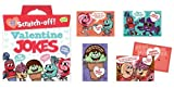 Peaceable Kingdom Scratch-Off Silly Jokes 28 Card Super Valentine Pack
