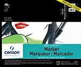 """Canson Artist Series Pro Layout Marker Pad, 14"""" x 17"""", Fold-over Cover, 50 Sheets"""