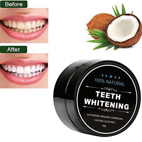 Teeth Whitening Charcoal Powder ,YouthWin Activated Charcoal Coconut Teeth Whitening ,Safe Natural Teeth Whitener Solution