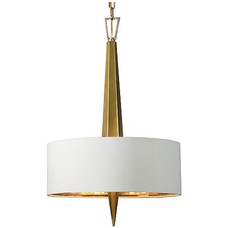 Uttermost 21264 Obeliska 3 Light Chandelier, Gold