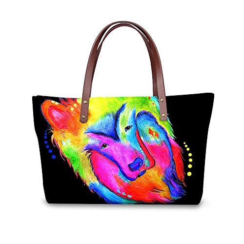Foldable Print Fruit Handbags Women Purse FancyPrint Wallets Bags Dfgcc1918al Casual qS1wZAv