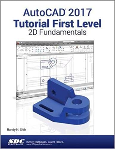 Amazon Autocad 2017 Tutorial First Level 2d Fundamentals