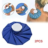 xlpace 2 Pcs Sport Injury Ice Bag Cap Muscle Aches Relief Pain Cold Therapy Pack Health Care Tools