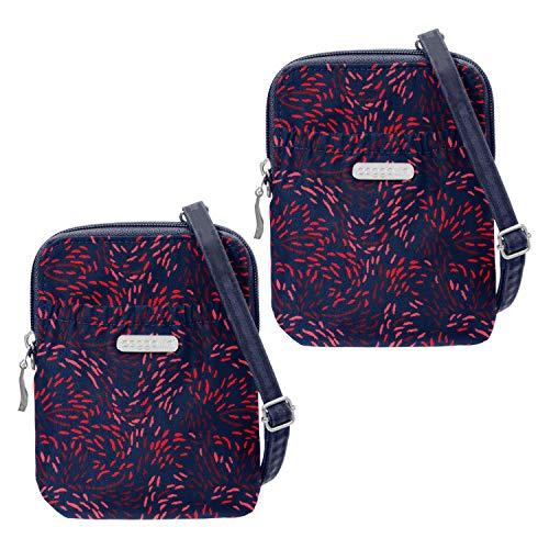Baggallini Women's 2 Bryant Pouch Bundle Firework Print for sale  Delivered anywhere in USA