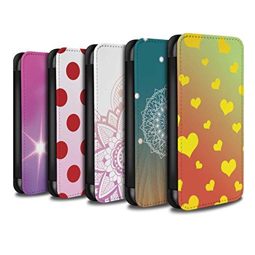 Stuff4 Coque/Etui/Housse Cuir PU Case/Cover pour Apple iPhone 6+/Plus 5.5 / Pack 6pcs Design / Motif Ombre Collection