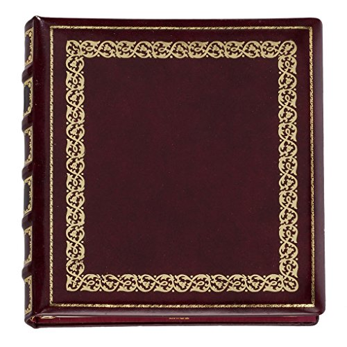 Exposures Library Leather Photo Album (Grain Antiqued Leather Top)