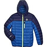 Gerry Boys' Packable Sweater Down Jacket (X-SMALL, Blue)