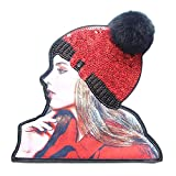 Fashion 3D Beautiful Girl Custom Patches Sew On Applique-01