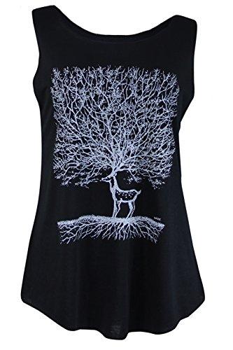 Origin Siam - Camiseta sin mangas - para mujer negro