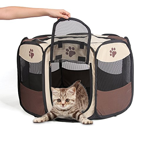 Puppy Playpen Portable Pet Playpen Water - Small Kittens Shopping Results