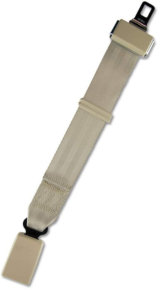 2 Pack 9 inch Car Belt Extender 7//8 Inch Type A Metal Tongue