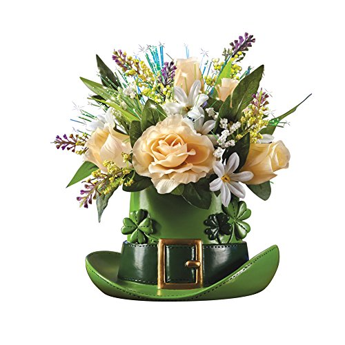 Optic Centerpiece (Fiber Optic St. Patrick's Day Floral Centerpiece)