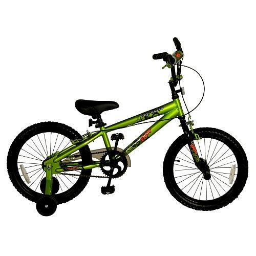 Avigo One Eight 18 inch Boys BMX Bicycle (Bmx 18 Inch Freestyle Bike)