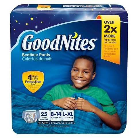 GoodNites® Underwear for Boys, Big Pack - Size L/XL (25 Count)