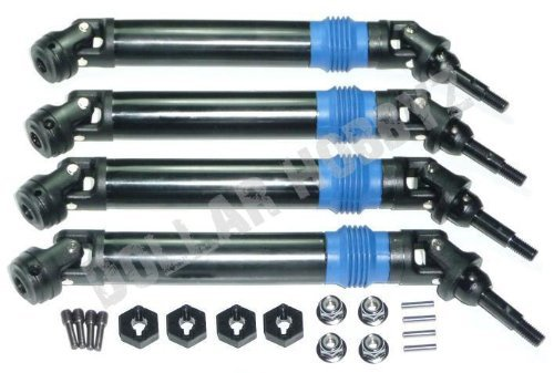 Traxxas T-Maxx 3.3 LEFT/ RIGHT, FRONT/REAR DRIVE SHAFTS 14mm WHEEL HEXES ()
