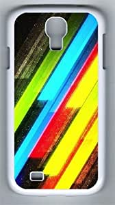 Bright Lights PC Hard Case Cover For Samsung Galaxy S4 SIV I9500 Case and Cover White