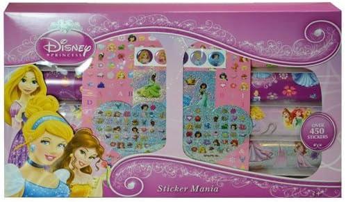 WeGlow International Disneys Princess Stickers Mania: Amazon.es ...