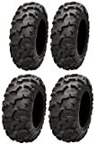 Full set of ITP Blackwater Evolution 28x9-14 and 28x11-14 ATV Tires (4)