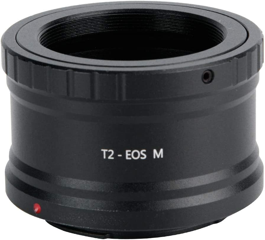 T2 Telescope Lens with M42 0.75 Screw Thread for Mirrorless EOS M Cameras Camera T2 to EOS M Adapter Ring Ring Lens fo sa Lens Adapter
