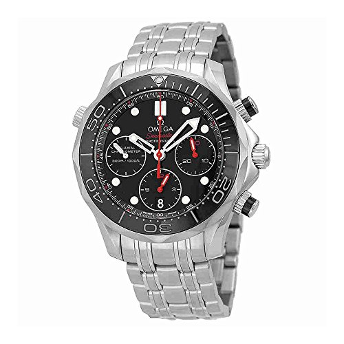 Omega Seamaster Diver - Omega Seamaster Diver 300 M Co-Axial Chronograph 41.5 mm Mens Watch 212.30.42.50.01.001