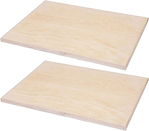 for Artists Outdoor Sketching 8K Wood Board Exceart 2Pcs Wood Sketch Painting Board Easel Board Wooden Drawing Board Beginners