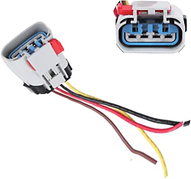 Amazon.com: Fuel Pump Connector Wiring Harness Pigtail Fit for Chevrolet  CHRYSLER DODGE Pontiac FPX-03 Carter 888-159 Replacement: Automotive