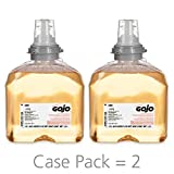 GOJO TFX Premium Foam Antibacterial Handwash, Fresh Fruit Scent, 1200 mL Foam Soap Refills for GOJO TFX Touch-Free Dispenser (Pack of 2) - 5362-02