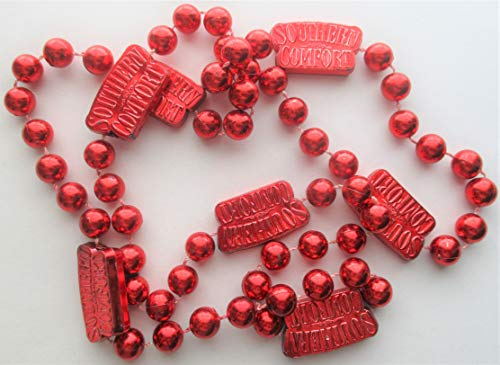 Southern Comfort Red Beads Advertising Collectible Necklace