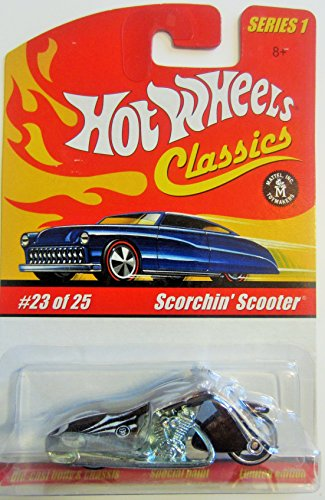 (Scorchin' Scooter Hot Wheels Classics Series 1 - Brown 23 of 25)