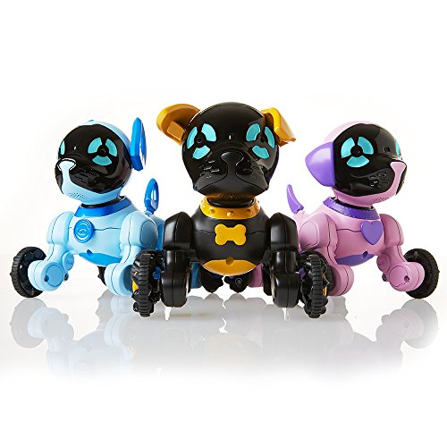 WowWee Chippies Robot Toy Dog - Chippo (Black)