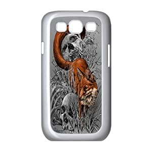 UNI-BEE PHONE CASE For Samsung Galaxy S3 -Wolf Pattern-CASE-STYLE 8