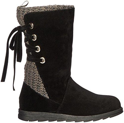Muk Luks Womens Luanna Fashion Boot Black