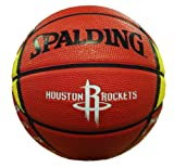NBA Houston Rockets Mini Basketball, 7-Inches