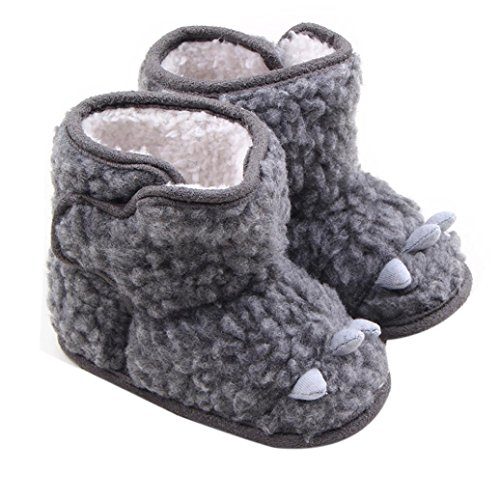 Creazy® 2016 Baby Toddler Infant Snow Boots Soft Sole Prewalker Crib Shoes (14)