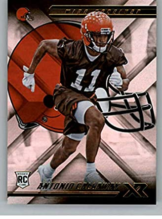2018 Panini Xr Football  149 Antonio Callaway RC Rookie Card Cleveland  Browns Rookie Official NFL 6e11b0141