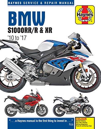 BMW S1000RR/R & XR Service & Repair Manual (2010 to 2017)