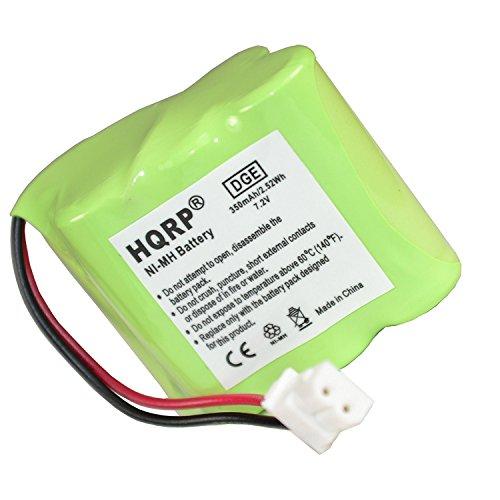 HQRP Transmitter Battery for Dt-Systems Super Trainer EZT 2000, EZT 2002, EZT 2003, EZT 3000, EZT 3002 Dog Training Collar + Coaster ()